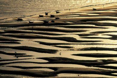 Somme bay, France