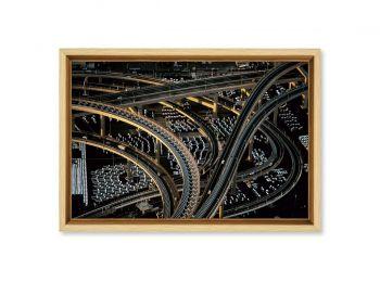 Motorway interchange, Japan