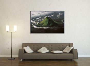Le volcan Maelifell, Islande