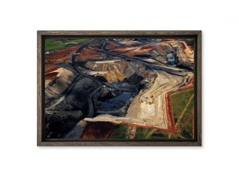 Mine de charbon, Afrique du Sud