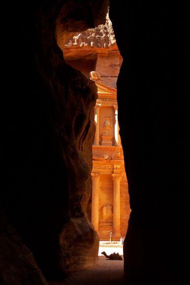Tombeau de El Khazneh, Pétra, Jordanie