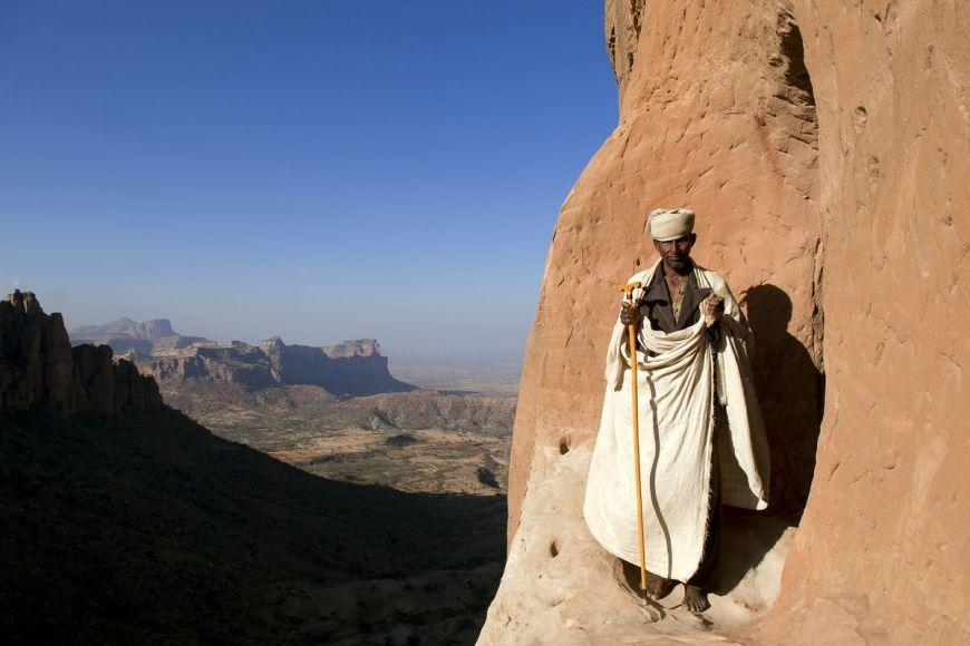 Priest, Tigray area, Ethiopia