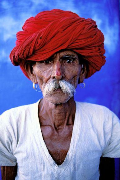 Rajput man, Rajasthan State, India