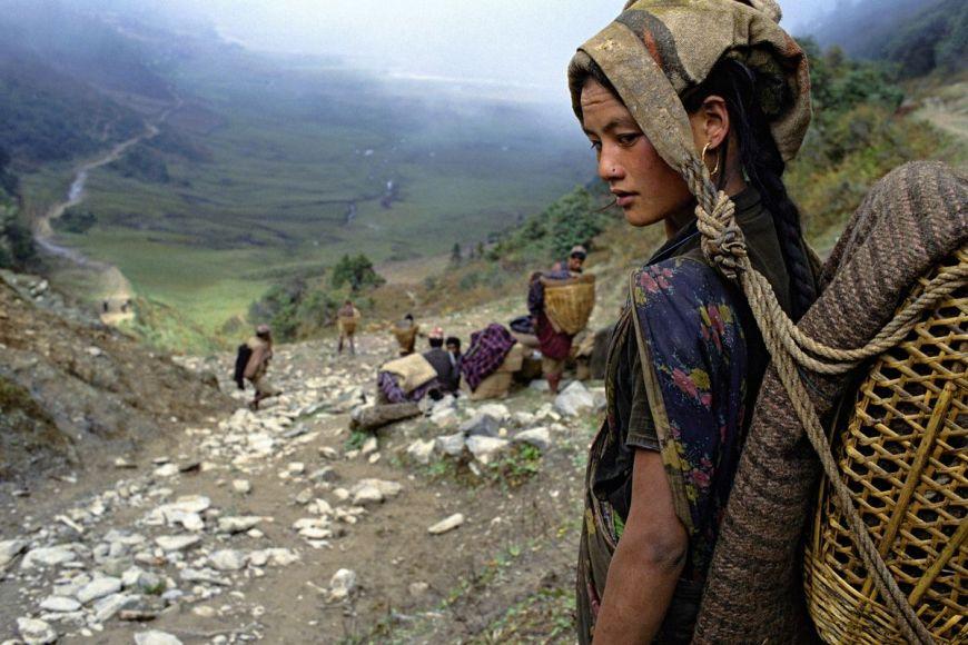 Routiers de l'Himalaya, porteurs, Népal