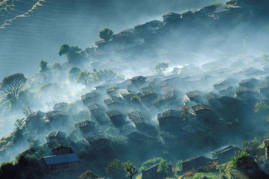 Laprak village, Gandaki Zone, Nepal