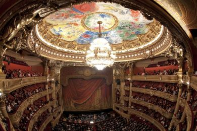 Salle de l'opéra Garnier, Paris, France
