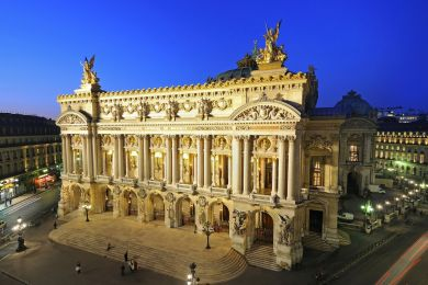 Garnier opera-house, Paris, France