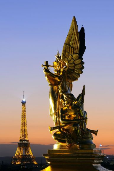 Statue the Harmony, Paris, France