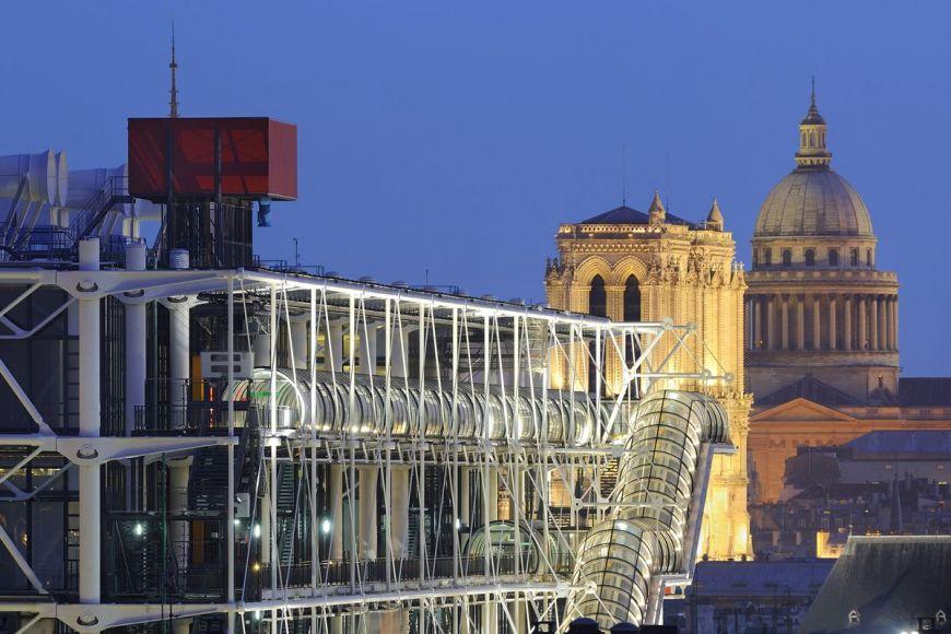 Georges Pompidou, Notre Dame, Paris, France