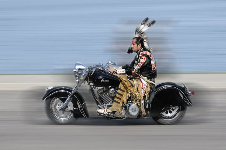Biker, South Dakota, United States