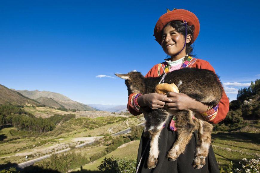 Young indian Quechua, Cuzco province, Peru