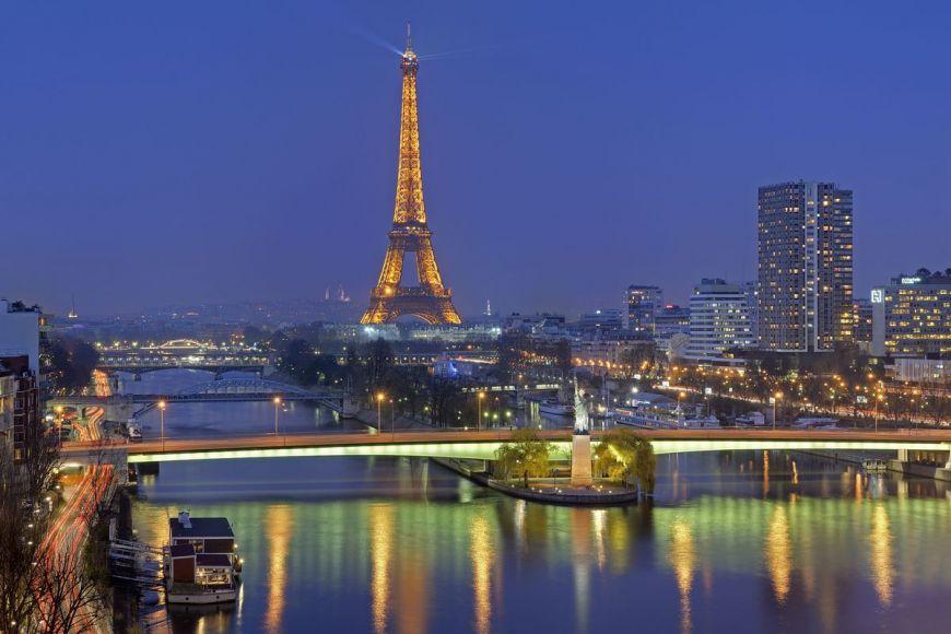 Réplique de la statue de la Liberté, Paris ,France