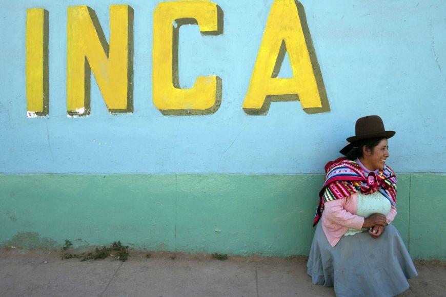 Péruvienne, Cuzco ,Pérou
