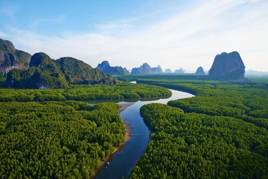 Parc national Ao Phang Nga, Thaïlande