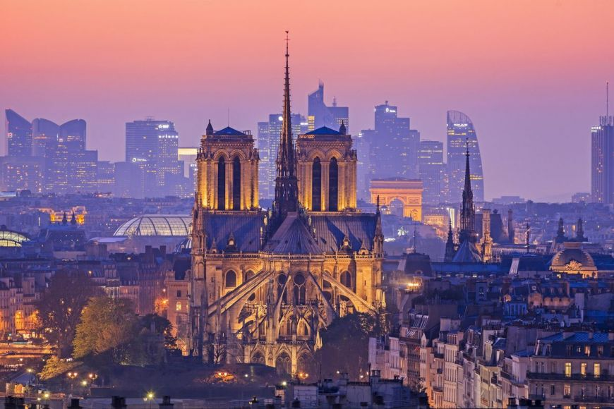 Notre-Dame de Paris cathedral, Paris, France