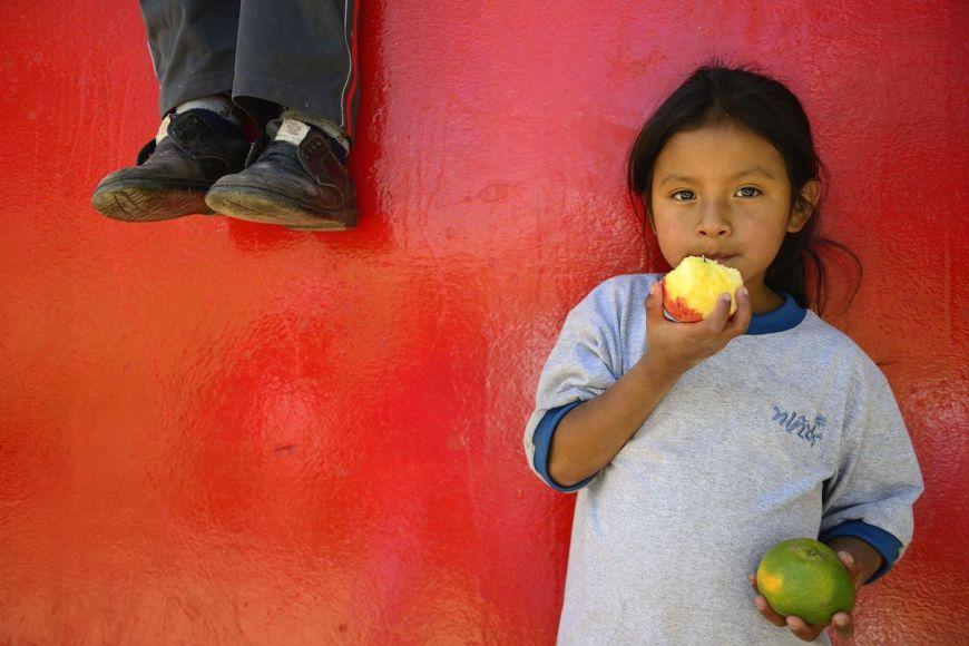 Jeune fille, Cuzco,Pérou