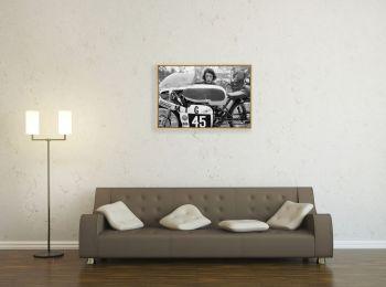 Tourist Trophy, pilote et sa 125 cm3 Bultaco