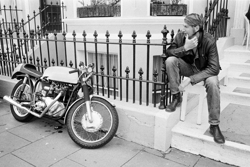 Tourist Trophy, biker et sa moto