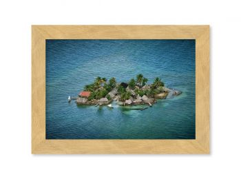 Kuna settlement, Panama