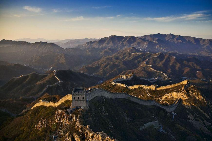 Grande Muraille de Chine près de Pékin, Chine