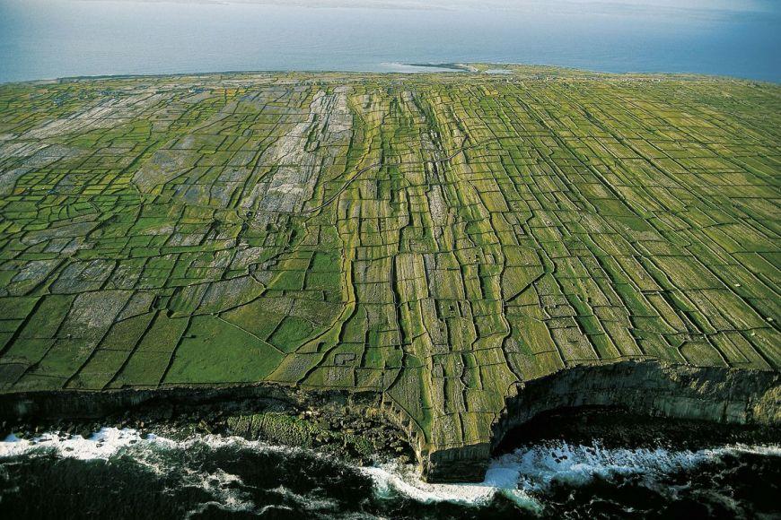 Inishmore cliffs, Irland