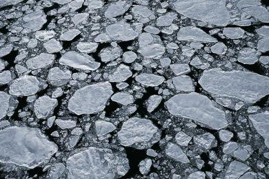 Paysage de glace, Nunavut, Canada