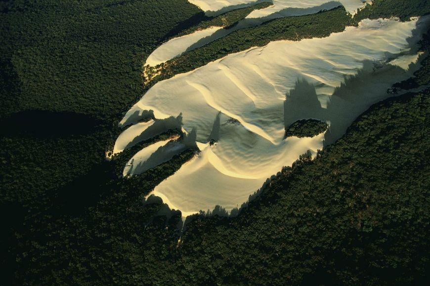 Sand dune, Queensland, Australia