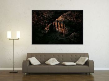 Temple, Petra, Jordanie