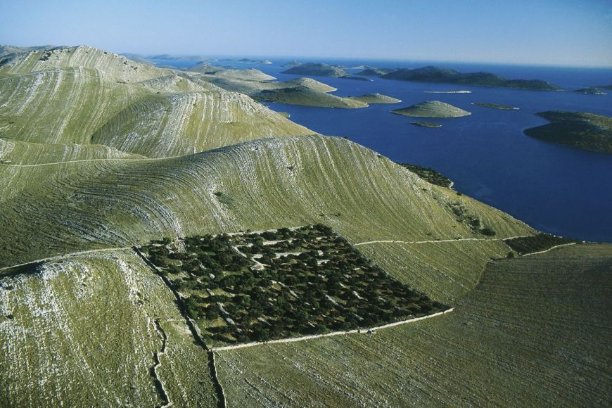 Île de Kornat, Croatie