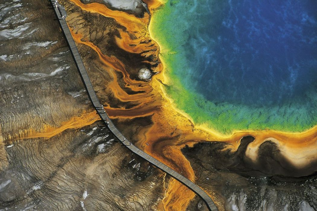 Grand Prismatic Spring, Wyoming, United States