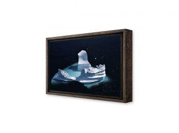 Eroded iceberg, Greenland