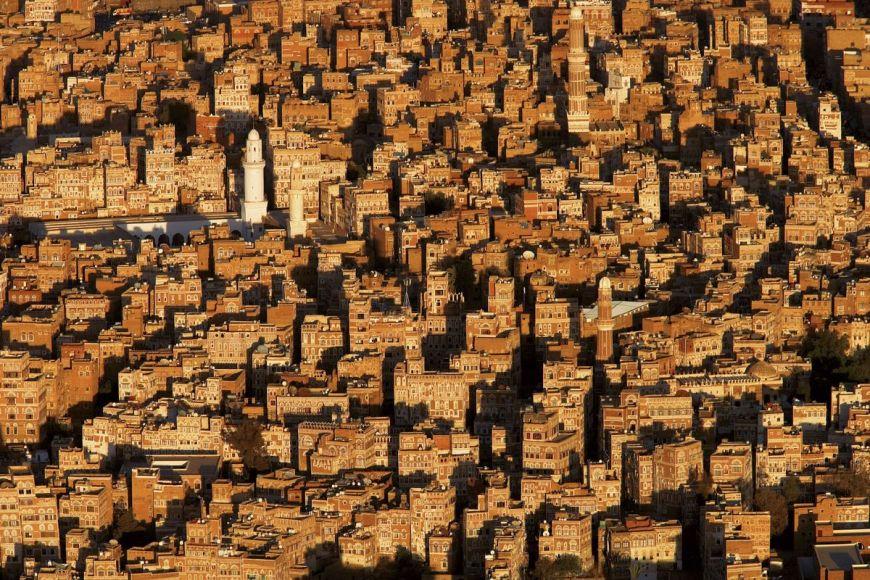 Sanaa's old town, Yemen