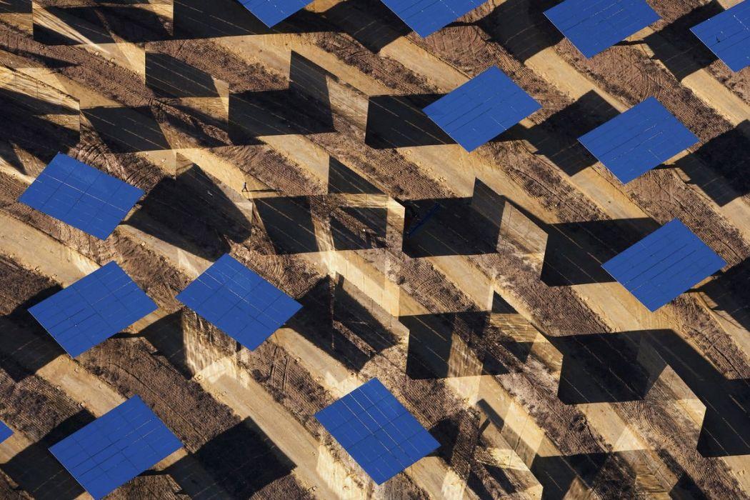 Centrale solaire en Espagne