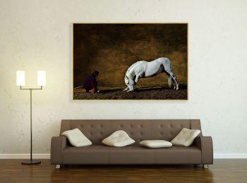 Cheval Pure Race Espagnole par Mario Luraschi