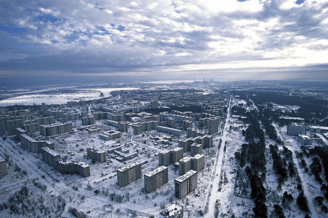 Abandoned town of Pripiat, Ukraine