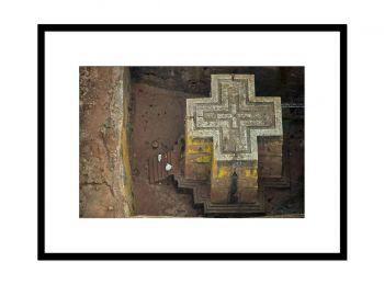 Eglise Saint Georges de Lalibela, Ethiopie